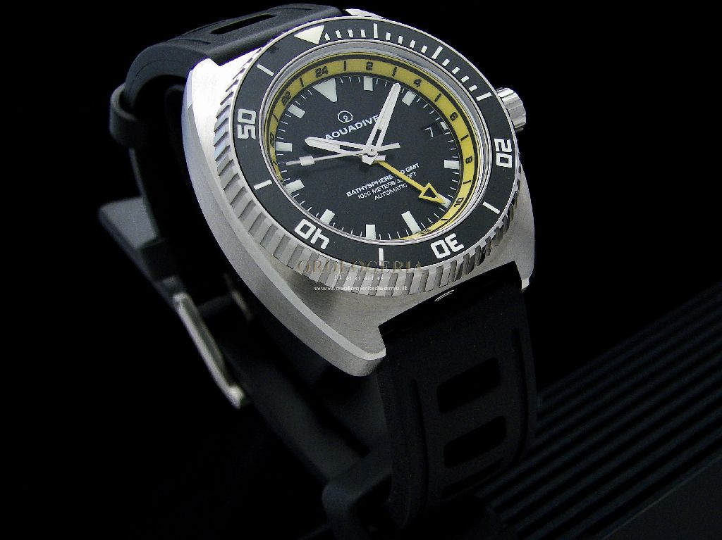 Aquadive Bathyscaphe 100 GMT Yellow