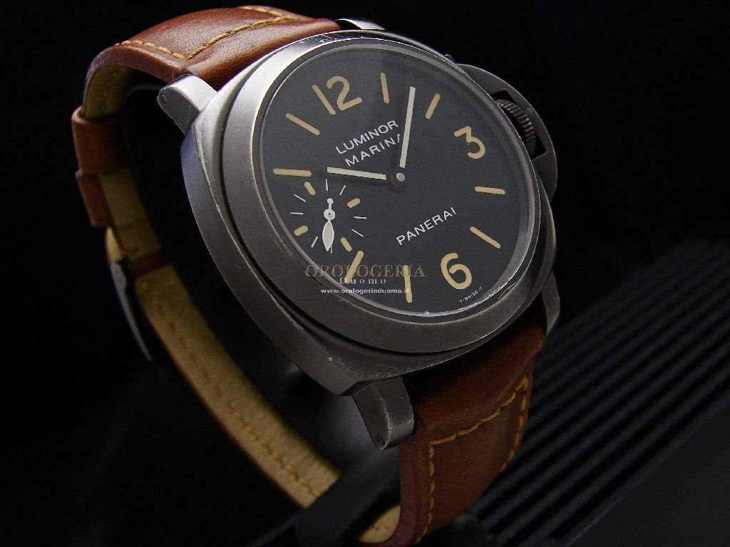 Panerai Luminor Marina Black PVD Quadrante Trizio