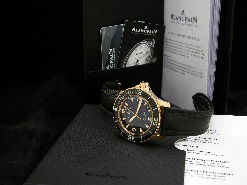 Blancpain Fifty Fathoms Automatique Rose Gold